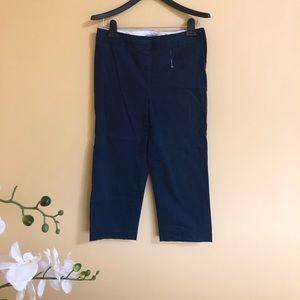 New Liz Claiborne Audra Capri Pants size 4
